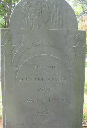 BIXBY, DANIEL - Essex County, Massachusetts | DANIEL BIXBY - Massachusetts Gravestone Photos