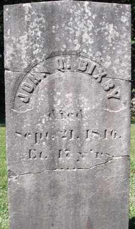 BIXBY, JOHN Q. - Essex County, Massachusetts | JOHN Q. BIXBY - Massachusetts Gravestone Photos