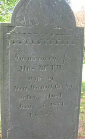 BIXBY, RUTH - Essex County, Massachusetts | RUTH BIXBY - Massachusetts Gravestone Photos