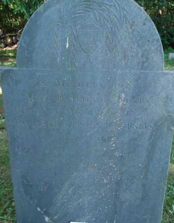 BIXBY, RUTH - Essex County, Massachusetts | RUTH BIXBY - Massachusetts Gravestone Photos