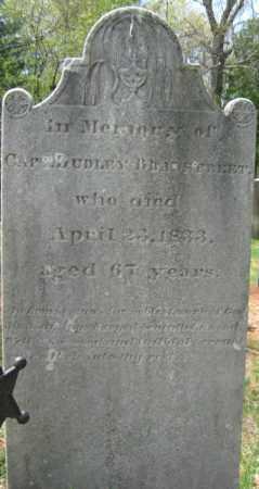 BRADSTREET, DUDLEY - Essex County, Massachusetts | DUDLEY BRADSTREET - Massachusetts Gravestone Photos