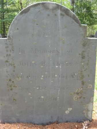BRADSTREET, JOHN - Essex County, Massachusetts   JOHN BRADSTREET - Massachusetts Gravestone Photos