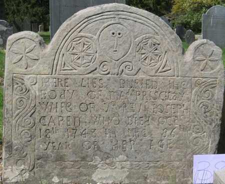 CAPEN, PRISCILLA - Essex County, Massachusetts | PRISCILLA CAPEN - Massachusetts Gravestone Photos