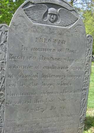 DEXTER, RICHARD - Essex County, Massachusetts | RICHARD DEXTER - Massachusetts Gravestone Photos