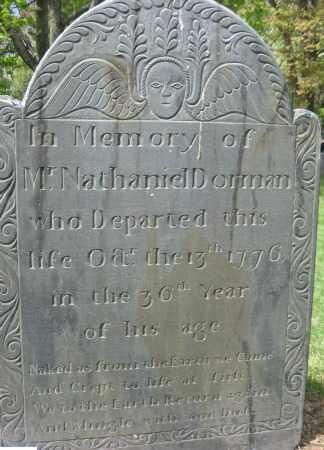 DORMAN, NATHANIEL - Essex County, Massachusetts | NATHANIEL DORMAN - Massachusetts Gravestone Photos