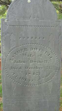 DWINELL, ESTHER - Essex County, Massachusetts | ESTHER DWINELL - Massachusetts Gravestone Photos