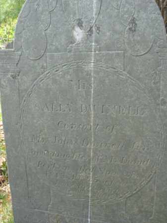 DWINELL, SALLY - Essex County, Massachusetts | SALLY DWINELL - Massachusetts Gravestone Photos