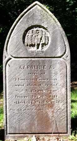 EMERSON, CAROLINE - Essex County, Massachusetts | CAROLINE EMERSON - Massachusetts Gravestone Photos