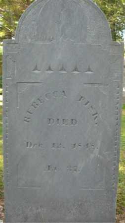 FISK, REBECCA - Essex County, Massachusetts   REBECCA FISK - Massachusetts Gravestone Photos