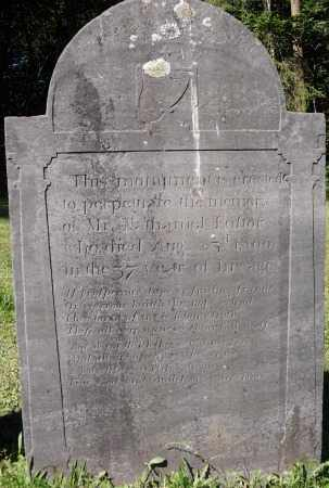 FOSTER, NATHANIEL - Essex County, Massachusetts | NATHANIEL FOSTER - Massachusetts Gravestone Photos