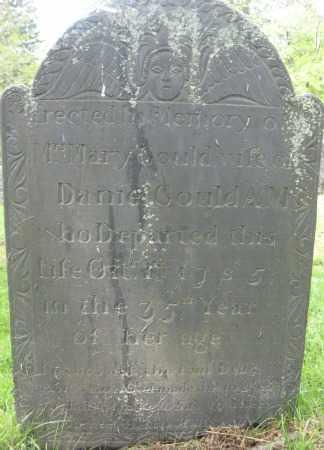 GOULD, MARY - Essex County, Massachusetts | MARY GOULD - Massachusetts Gravestone Photos