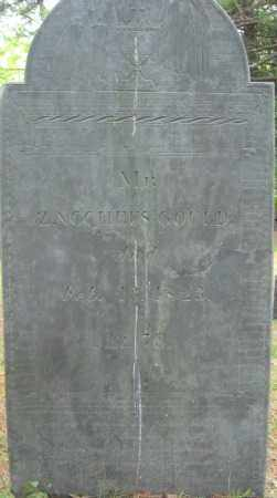 GOULD, ZACHEUS - Essex County, Massachusetts | ZACHEUS GOULD - Massachusetts Gravestone Photos