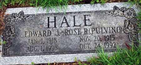 HALE, EDWARD J. - Essex County, Massachusetts | EDWARD J. HALE - Massachusetts Gravestone Photos