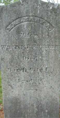 HUBBARD, MARY A. - Essex County, Massachusetts   MARY A. HUBBARD - Massachusetts Gravestone Photos