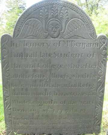 KIMBALL, BENJAMIN - Essex County, Massachusetts   BENJAMIN KIMBALL - Massachusetts Gravestone Photos