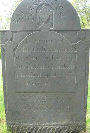 KIMBALL, LYDIA - Essex County, Massachusetts | LYDIA KIMBALL - Massachusetts Gravestone Photos