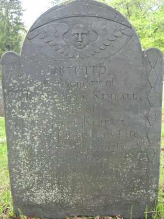 KIMBALL, PRISCILLA - Essex County, Massachusetts | PRISCILLA KIMBALL - Massachusetts Gravestone Photos