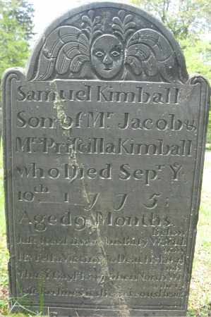 KIMBALL, SAMUEL - Essex County, Massachusetts | SAMUEL KIMBALL - Massachusetts Gravestone Photos