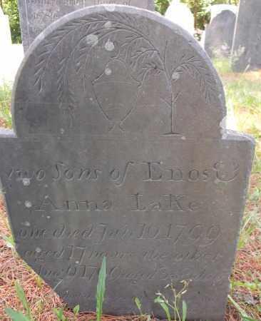 LAKE, (TWO SONS) - Essex County, Massachusetts | (TWO SONS) LAKE - Massachusetts Gravestone Photos