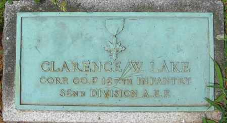LAKE (WWI), CLARENCE W. - Essex County, Massachusetts | CLARENCE W. LAKE (WWI) - Massachusetts Gravestone Photos