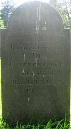 LAKE (RW), ELIEZER - Essex County, Massachusetts | ELIEZER LAKE (RW) - Massachusetts Gravestone Photos