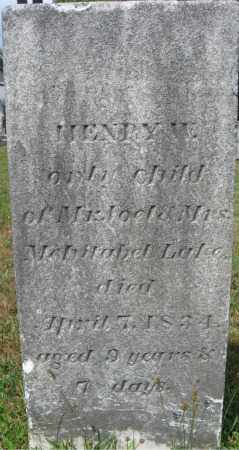 LAKE, HENRY M. - Essex County, Massachusetts | HENRY M. LAKE - Massachusetts Gravestone Photos