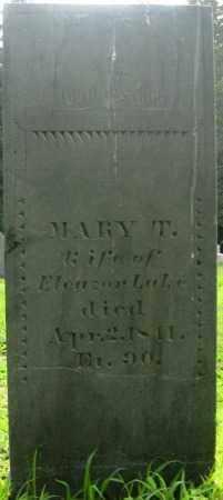 LAKE, MARY - Essex County, Massachusetts | MARY LAKE - Massachusetts Gravestone Photos