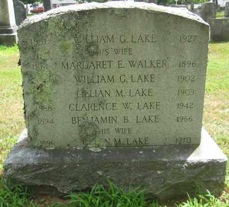 LAKE, WILLIAM G. - Essex County, Massachusetts | WILLIAM G. LAKE - Massachusetts Gravestone Photos
