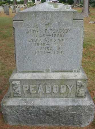 PEABODY, ALDEN P. - Essex County, Massachusetts | ALDEN P. PEABODY - Massachusetts Gravestone Photos