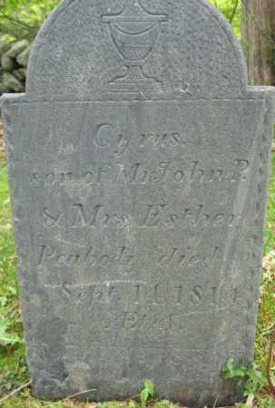 PEABODY, CYRUS - Essex County, Massachusetts | CYRUS PEABODY - Massachusetts Gravestone Photos