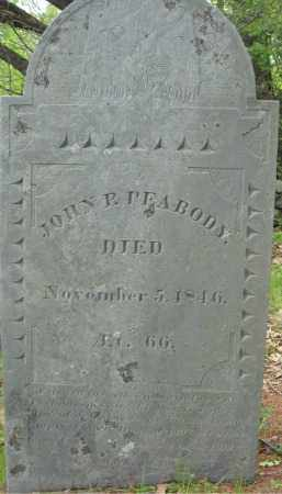 PEABODY, JOHN P. - Essex County, Massachusetts | JOHN P. PEABODY - Massachusetts Gravestone Photos