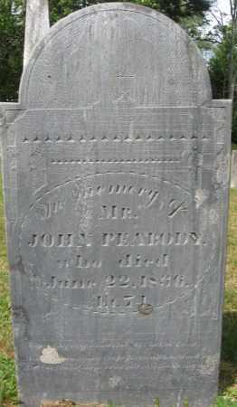 PEABODY, JOHN - Essex County, Massachusetts | JOHN PEABODY - Massachusetts Gravestone Photos