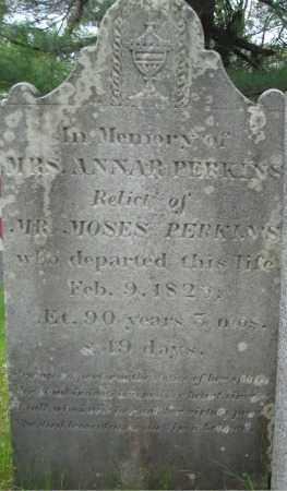 PERKINS, ANNAR - Essex County, Massachusetts | ANNAR PERKINS - Massachusetts Gravestone Photos