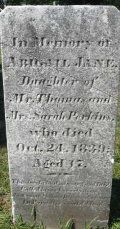 PERKINS, ABIGAIL JANE - Essex County, Massachusetts   ABIGAIL JANE PERKINS - Massachusetts Gravestone Photos