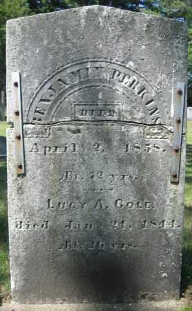 PERKINS, BENJAMIN - Essex County, Massachusetts   BENJAMIN PERKINS - Massachusetts Gravestone Photos