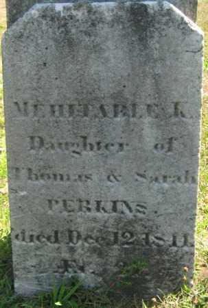 PERKINS, MEHITABLE K. - Essex County, Massachusetts | MEHITABLE K. PERKINS - Massachusetts Gravestone Photos