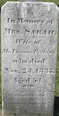 PERKINS, SARAH - Essex County, Massachusetts   SARAH PERKINS - Massachusetts Gravestone Photos