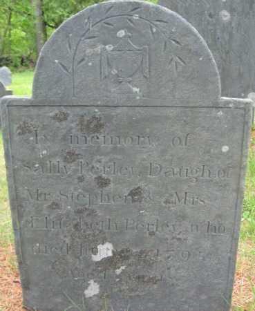 PERLEY, SALLY - Essex County, Massachusetts | SALLY PERLEY - Massachusetts Gravestone Photos
