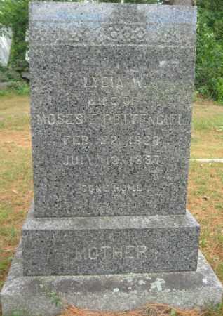 PETTENGILL, LYDIA W. - Essex County, Massachusetts | LYDIA W. PETTENGILL - Massachusetts Gravestone Photos