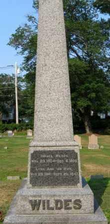 WILDES, LYDIA ANN - Essex County, Massachusetts | LYDIA ANN WILDES - Massachusetts Gravestone Photos