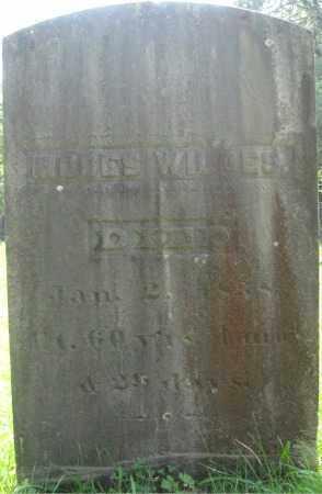 WILDES, MOSES - Essex County, Massachusetts | MOSES WILDES - Massachusetts Gravestone Photos