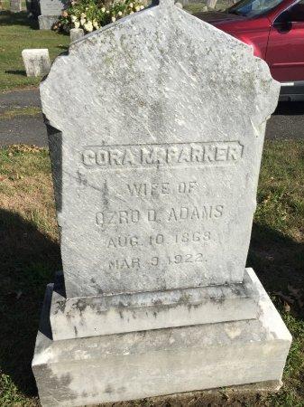 ADAMS, CORA MATILDA - Franklin County, Massachusetts | CORA MATILDA ADAMS - Massachusetts Gravestone Photos