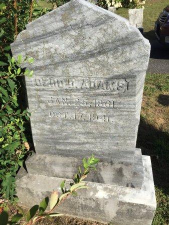 ADAMS, OZRO DANIEL - Franklin County, Massachusetts   OZRO DANIEL ADAMS - Massachusetts Gravestone Photos