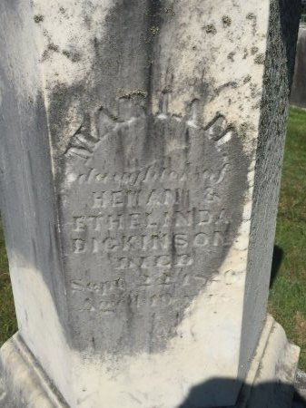 DICKINSON, MARIAH MARSH - Franklin County, Massachusetts | MARIAH MARSH DICKINSON - Massachusetts Gravestone Photos