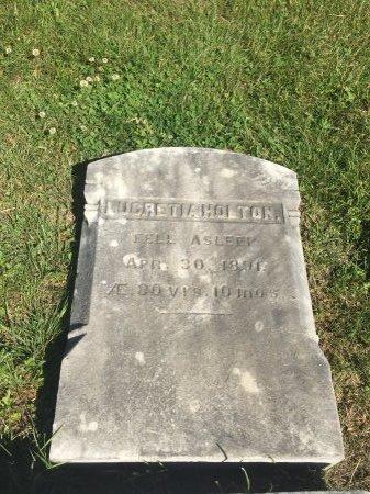 HOLTON, LUCRETIA - Franklin County, Massachusetts | LUCRETIA HOLTON - Massachusetts Gravestone Photos