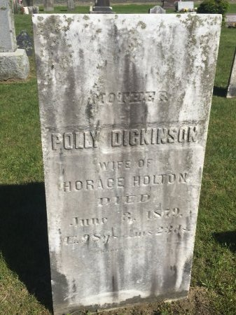 DICKINSON, POLLY - Franklin County, Massachusetts | POLLY DICKINSON - Massachusetts Gravestone Photos
