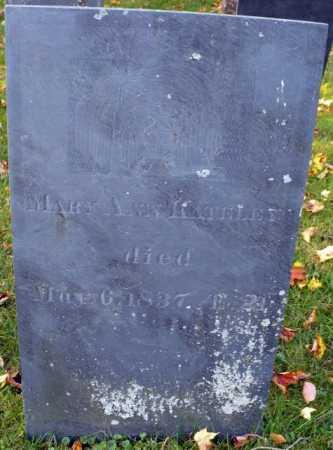 KATELEY, MARY ANN - Franklin County, Massachusetts | MARY ANN KATELEY - Massachusetts Gravestone Photos
