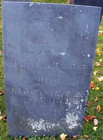 KATELEY, MARY ANN - Franklin County, Massachusetts | MARY ANN KATELEY - Massachusetts Gravestone Photos