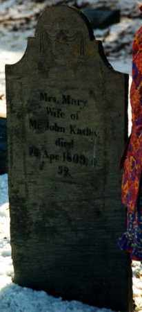 KATLEY, MARY - Franklin County, Massachusetts | MARY KATLEY - Massachusetts Gravestone Photos