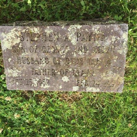 PAYNE, STEPHEN ALAN - Franklin County, Massachusetts | STEPHEN ALAN PAYNE - Massachusetts Gravestone Photos